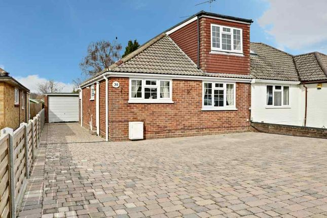 Thumbnail Semi-detached bungalow for sale in Hulbert Way, Basingstoke