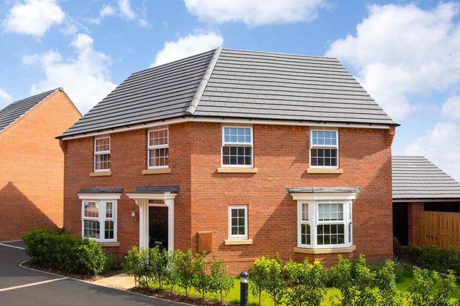 "Thumbnail Detached house for sale in ""Ashtree"" at Ada Wright Way, Wigston"