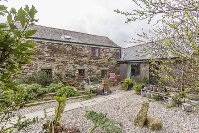 Thumbnail Barn conversion for sale in Reskivers, Tregony, Truro