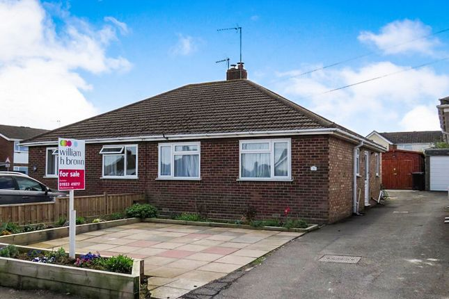 Thumbnail Semi-detached bungalow for sale in Morris Avenue, Rushden