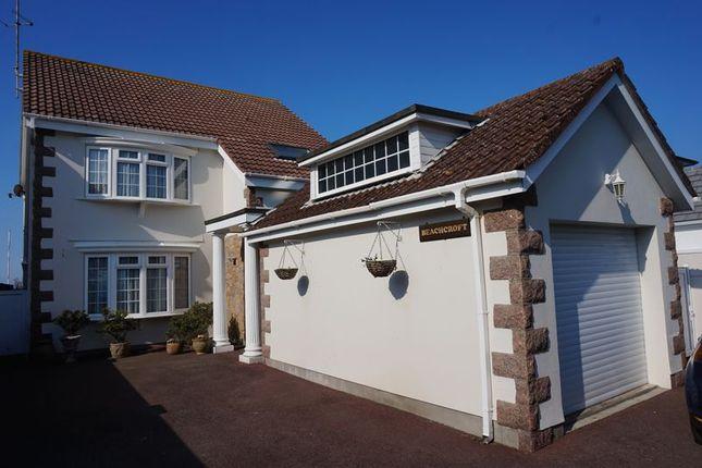 Thumbnail Detached house for sale in La Cache Du Bourg, St. Clement, Jersey