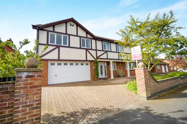 Thumbnail Detached house for sale in Holme Drive, Burton-Upon-Stather, Scunthorpe
