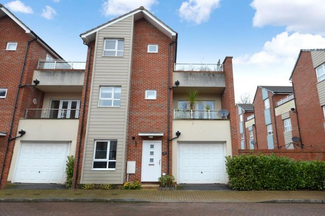 Thumbnail End terrace house to rent in Chieftain Way, Exeter, Devon