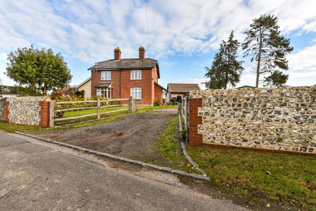 Thumbnail Semi-detached house for sale in Woodmancote, Emsworth