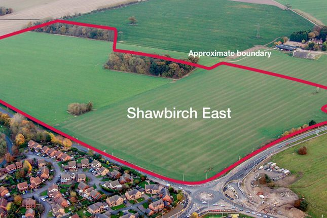 Thumbnail Land for sale in Shawbirch East, Telford