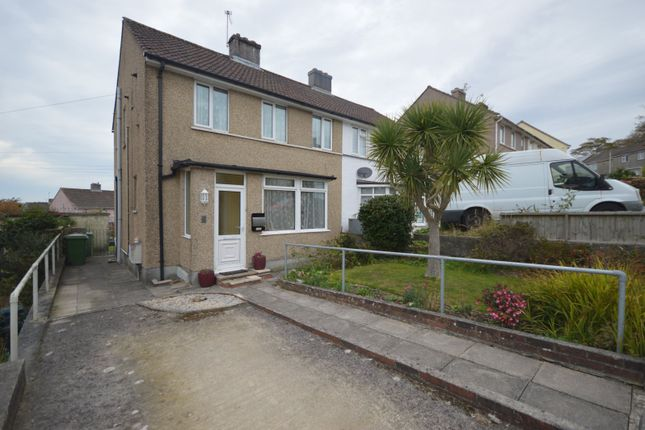 Thumbnail 3 bed semi-detached house for sale in Hexham Place, Plymouth, Devon