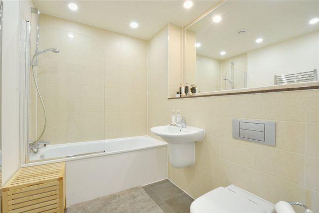 Bathroom of Atrium Heights, 4 Little Thames Walk, Deptford, London SE8