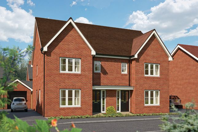 "Thumbnail Semi-detached house for sale in ""The Cypress"" at Hadham Road, Bishop's Stortford"