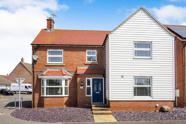 Thumbnail Detached house for sale in Cheesemans Green Lane, Kingsnorth, Ashford