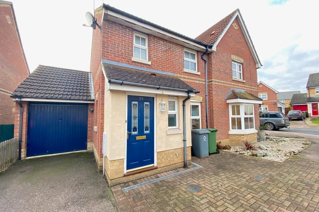 Thumbnail Semi-detached house to rent in Dalbier Close, Thorpe St. Andrew, Norwich