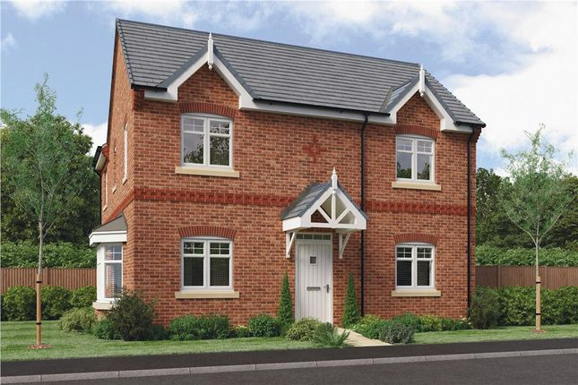 "Thumbnail Detached house for sale in ""Darley"" at Warwick Road, Kibworth"