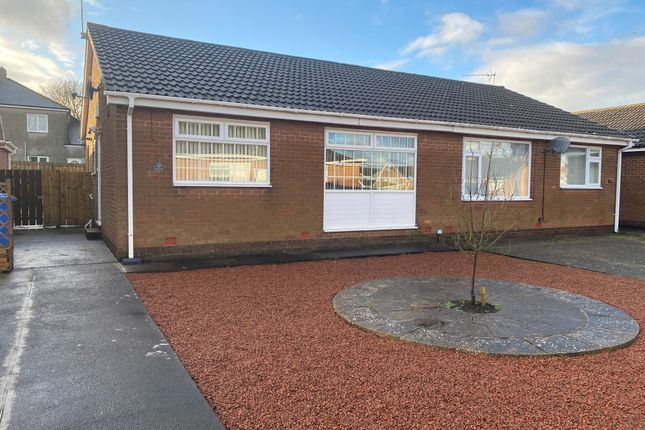2 bed semi-detached bungalow for sale in Warwick Close, Seghill, Northumberland NE23