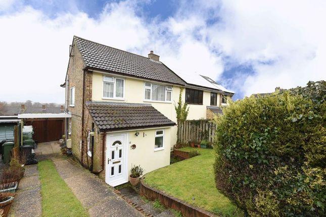 Thumbnail Semi-detached house for sale in King John Road, Kingsclere, Newbury