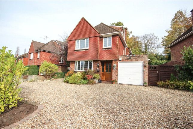 Thumbnail Detached house for sale in The Verne, Church Crookham, Fleet, Hampshire
