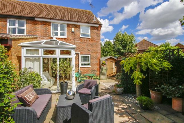 Thumbnail Semi-detached house for sale in Long Ayres, Caldecotte, Milton Keynes, Bucks