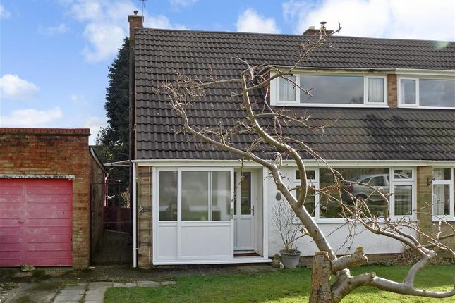 Thumbnail Semi-detached house for sale in Herne Down, Crowborough, East Sussex