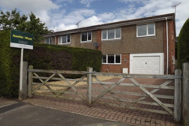 Thumbnail End terrace house to rent in Hightown Gardens, Ringwood