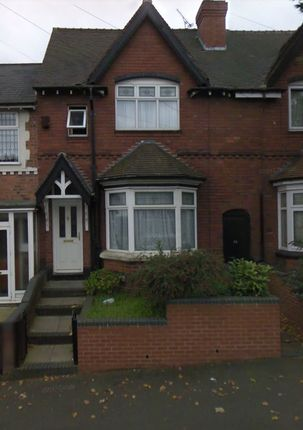 Thumbnail Terraced house to rent in Grafton Road, Handsworth, Birmingham