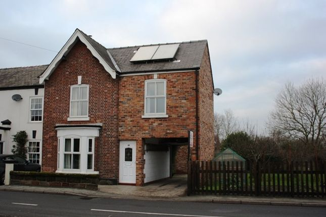 Thumbnail End terrace house to rent in Rushgreen Road, Lymm, Warrington