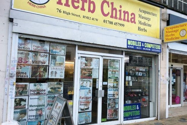 Retail premises for sale in 76 High Street, Hornchurch