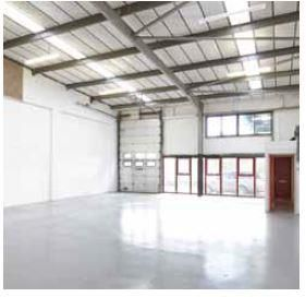 Internal of Rabans Lane Industrial Estate, Aylesbury, Buckinghamshire HP19