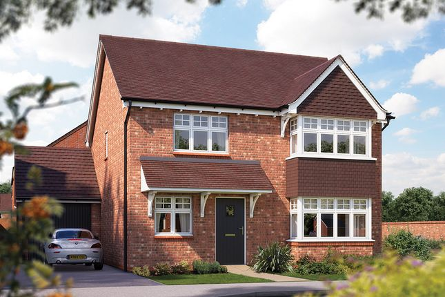 "Thumbnail Detached house for sale in ""The Canterbury"" at Crewe Road, Haslington, Crewe"
