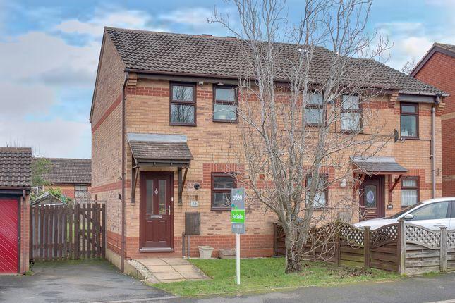 Thumbnail Semi-detached house for sale in Rednal Mill Drive, Rednal, Birmingham