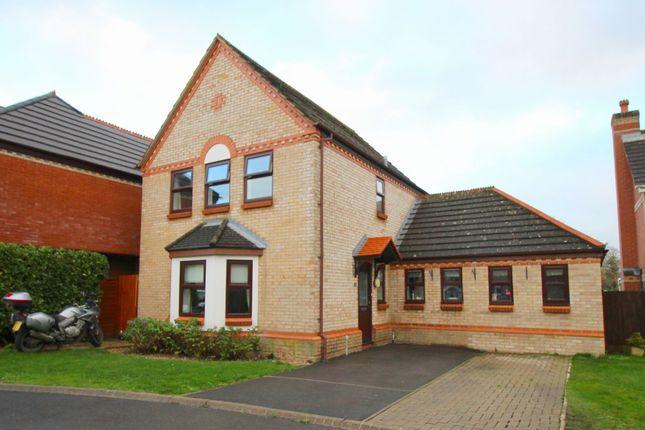 Thumbnail Detached house for sale in Swanborough Close, Chippenham