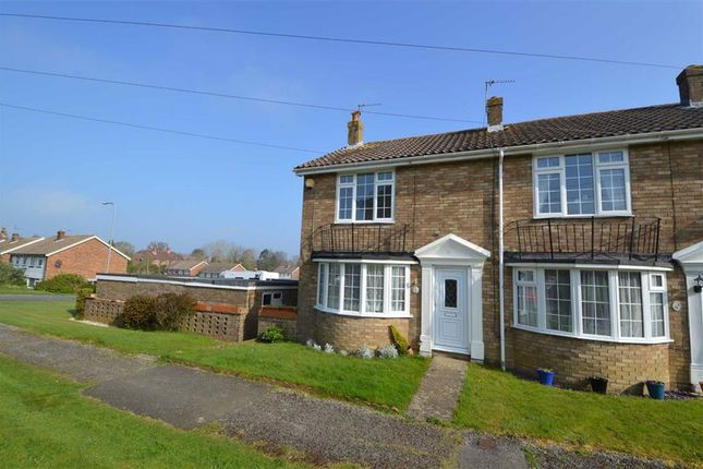 Thumbnail End terrace house to rent in Jeffreys Way, Uckfield
