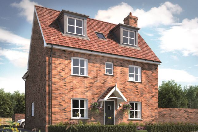 Thumbnail Detached house for sale in The Elms, Mountnessing, Brentwood