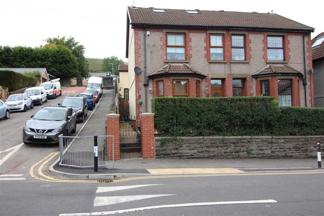 Thumbnail Semi-detached house for sale in Cemetery Road, Porth
