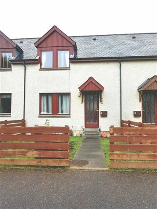 Thumbnail Terraced house for sale in Chapel Court, Grantown-On-Spey, Morayshire