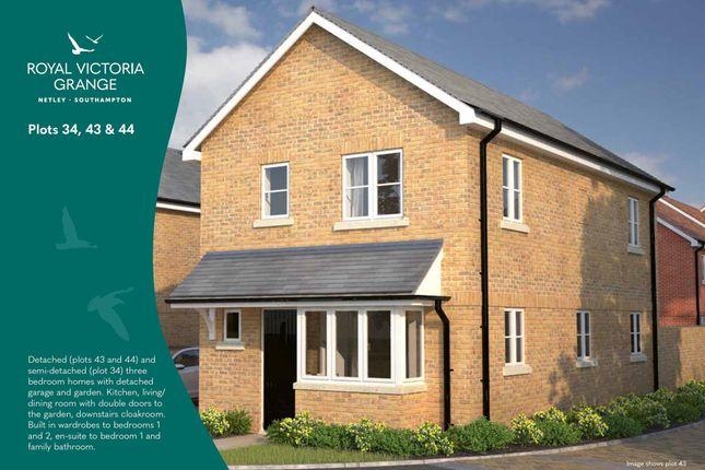 Thumbnail Semi-detached house for sale in Royal Victoria Grange, Netley Abbey, Southampton