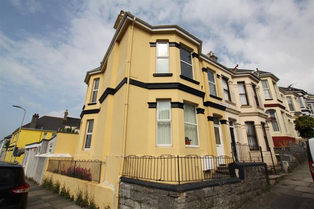 Thumbnail End terrace house for sale in Cranbourne Avenue, Plymouth