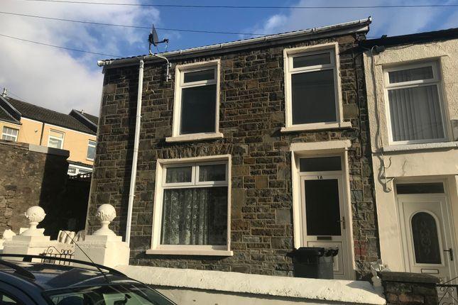 Thumbnail Terraced house to rent in William Street, Twynyrodyn, Merthyr Tydfil