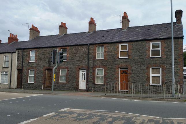 Thumbnail Terraced house to rent in Caernarfon Road, Bangor, Bangor