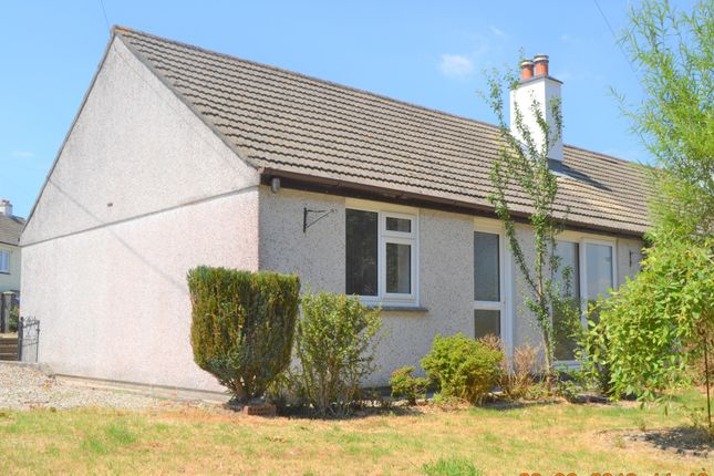 Thumbnail Semi-detached bungalow to rent in Clairemont Place, St. Cleer, Liskeard