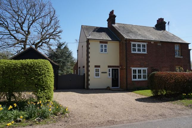 Thumbnail Semi-detached house for sale in Wivenhoe Road, Crockleford Heath, Colchester