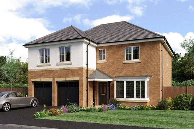 "Thumbnail Detached house for sale in ""The Jura"" at Weldon Road, Cramlington"