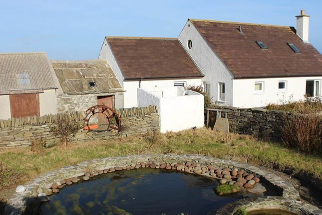 Detached house for sale in Broughton, Westray, Orkney