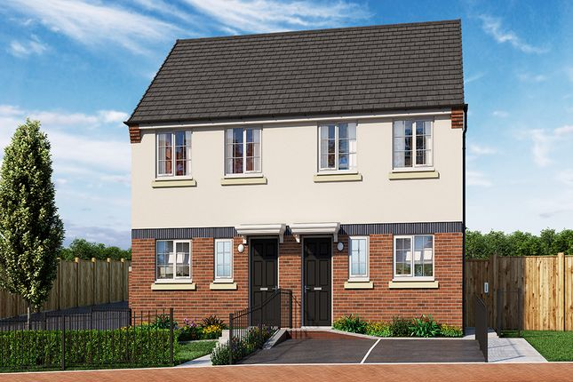 """Thumbnail Property for sale in """"The Cayton"""" at Wellington Road, Northwood, Stoke-On-Trent"""