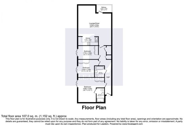 Floor Plan of Victoria Court, New Street, Essex CM1
