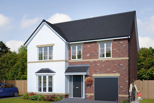 "Thumbnail Detached house for sale in ""The Norbury"" at Browney Lane, Browney, Durham"