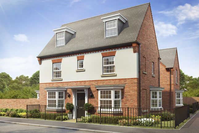 "Thumbnail Detached house for sale in ""Hertford"" at Callow Hill Way, Littleover, Derby"