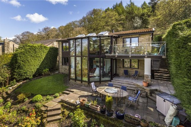 Thumbnail Detached house for sale in Hollin Hall Drive, Ilkley, West Yorkshire