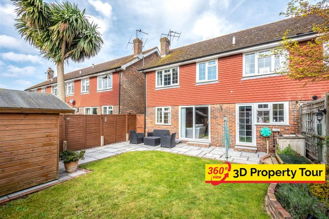 Thumbnail Semi-detached house for sale in South Road, Hailsham