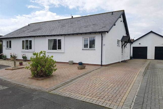 Thumbnail Semi-detached bungalow for sale in Swn Y Mor, Garden Suburb, Barry