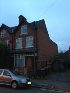 Thumbnail Terraced house to rent in Cross Road, Leicester