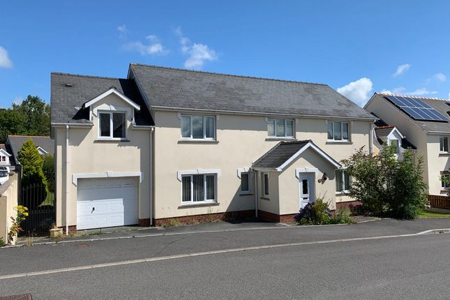 Thumbnail Detached house for sale in Nether Edge Drive, Haverfordwest