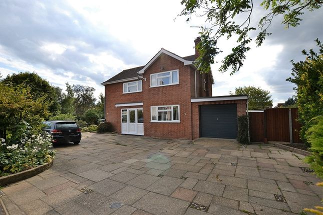 Thumbnail Detached house for sale in The Grove, Dereham, Norfolk.